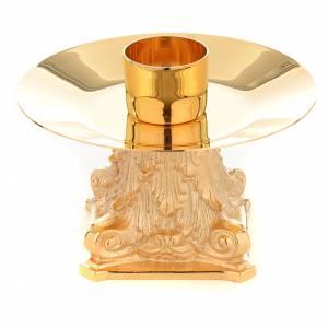 Candelieri metallo: Candeliere con Capitello bossolo 4 cm
