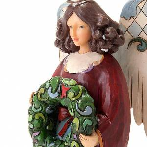 Decoraciones navideñas para la casa: Carillón Ángel del Invierno (Winter Joy)