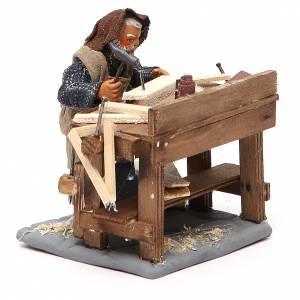 Carpenter with workbench, Neapolitan Nativity 10cm s4