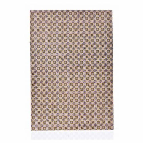 Cartoncino sottile pavimento fiori 24X16,5 cm s1