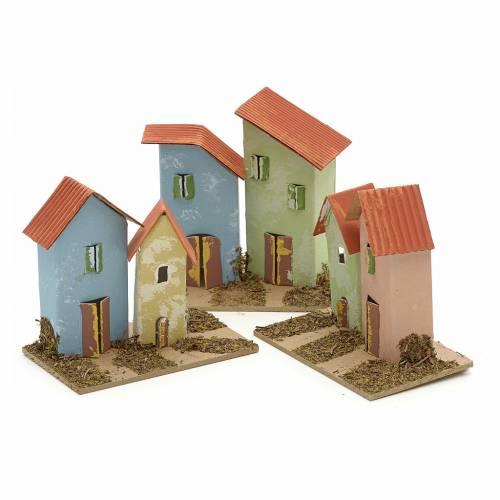 Casa per presepe 10x4,5 cm s5