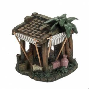 Casa con tende per villaggio Fontanini cm 6.5 s2