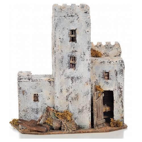 Casa de palestina h. 30 cm. belén napolitano s1