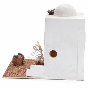 Casa in stile arabo in polistirene cm 25x20xh25 s4