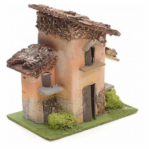 Casa rústica pesebre 18x18x12 s2