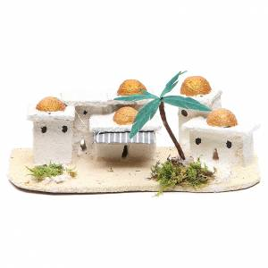 Ambientazioni, botteghe, case, pozzi: Casette arabe presepe 8x15x10 cm modelli assortiti