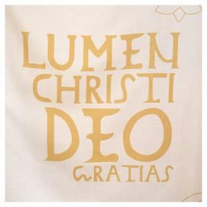 Casula liturgica con decori in oro s4
