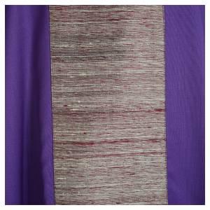 Casulla en 100% lana pura y decoración en 100% seda pura s7