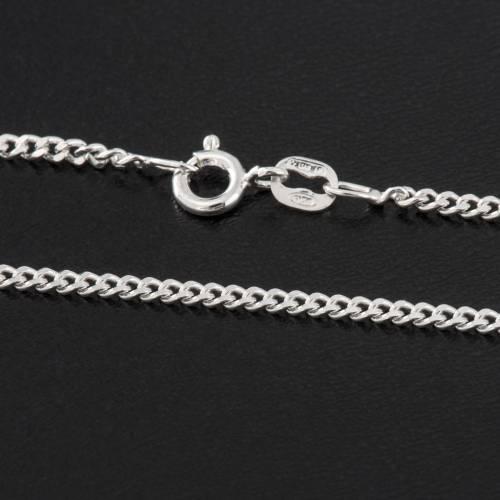 Catena grumetta argento 925 lunghezza 50 cm s2