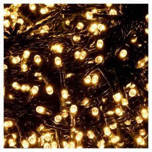 Catena luci di Natale 1500 LED bianco caldo programmabile ESTERNO INTERNO corrente s3