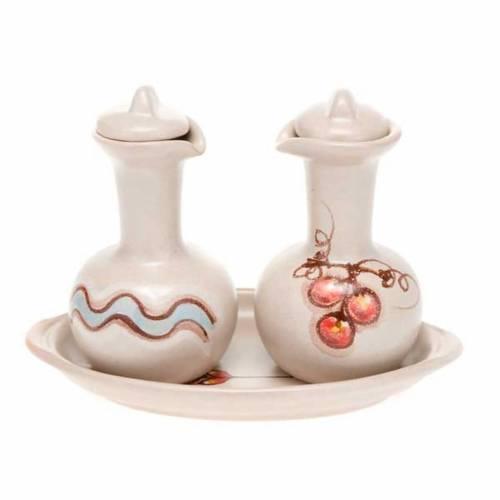 Ceramic cruet set s5