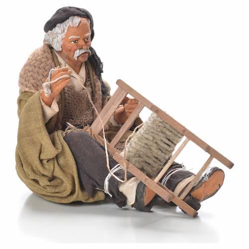 Chair fixer, Neapolitan Nativity 30cm s1