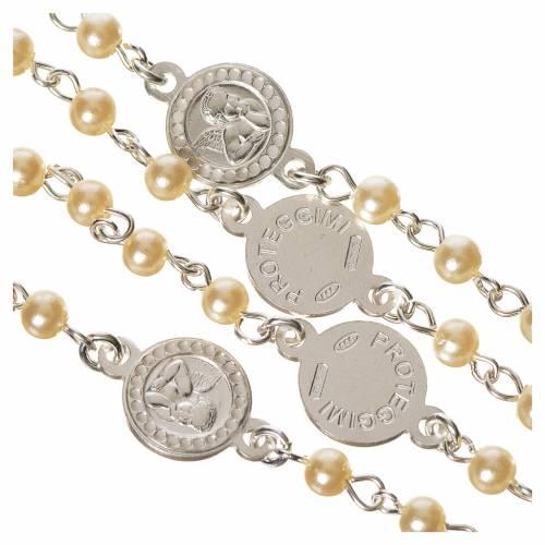 Chapelet argent 800 perle Ange Gardien s4