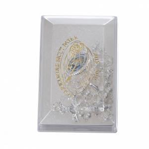 Chapelets en métal: STOCK Chapelet Jubilé Miséricorde métal satiné 4 mm