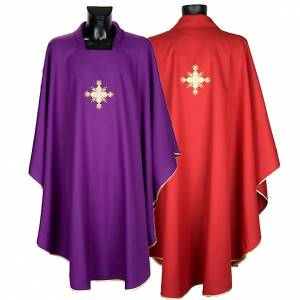 Chasuble and stole, cross s1