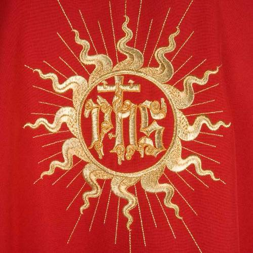 Chasuble and stole, sun and cross s5