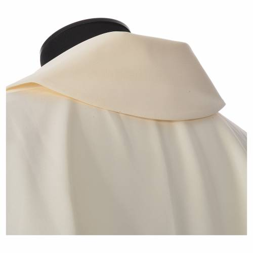 Chasuble avec broderie croix s4
