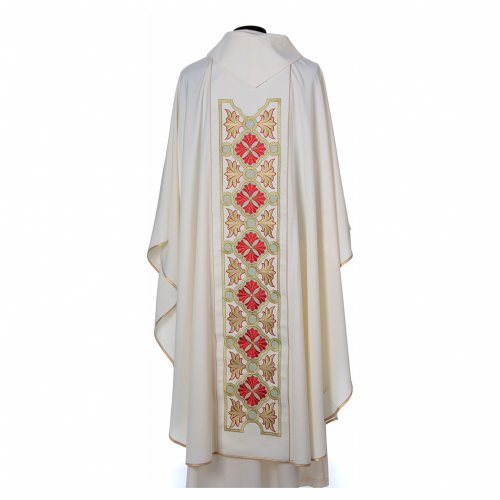 Chasuble in 80% polyester 20% wool, Lamb of God s2