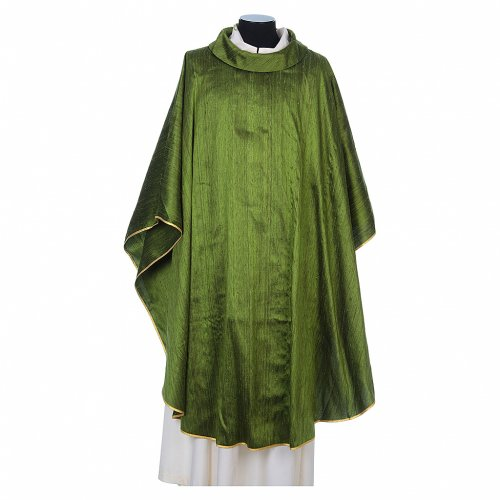 Chasuble in pure Shantung silk s3