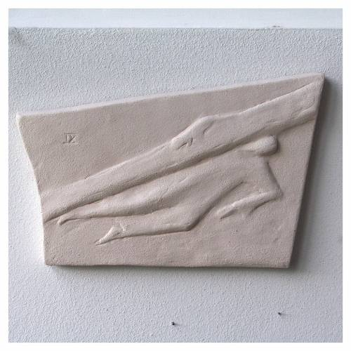 Chemin croix carreaux irréguliers 20x294 cm argile Ave s9