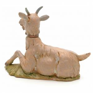 Chèvre couchée crèche Fontanini 30 cm s2