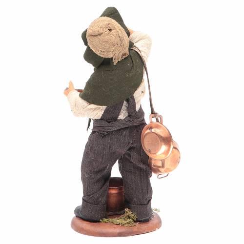 Chico con caserolas en cobre 14 cm belén Napolitano s4