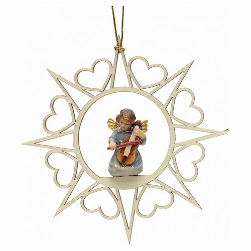 Christmas decoration angel with violin s1