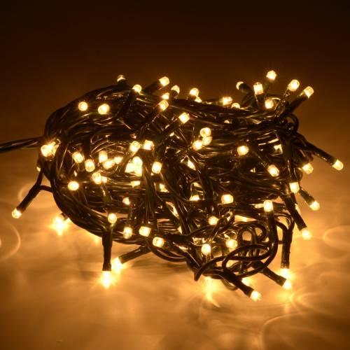 Christmas lights 180 mini lights, fair white for indoor use s2