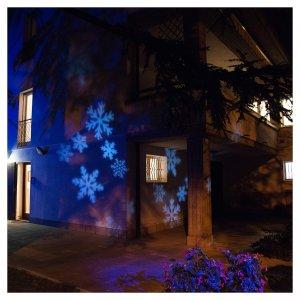 Christmas Lights Projector Snowflake Outdoor Indoor
