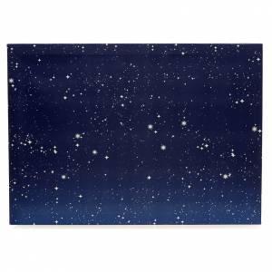 Fondos y pavimentos: Cielo luminoso pesebre 50x70