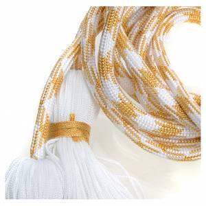 Albas litúrgicas: Cíngulo sacerdotal color dorado