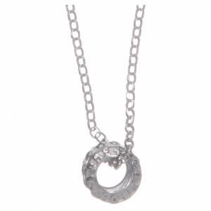 Pendenti, croci, spille, catenelle: Ciondolo rosario nero argento 925