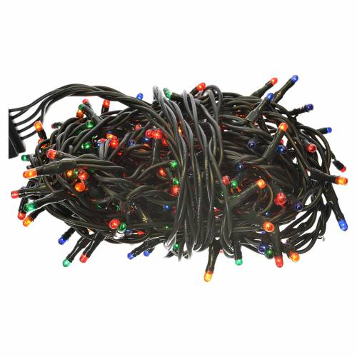 Éclairage Noël 240 mini lucioles multicolores programmables int s1