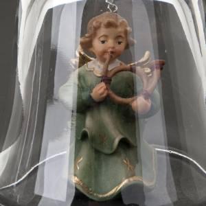 Clochette en cristal avec ange s4