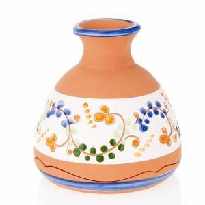 Clochette vase Nativité terre cuite s2