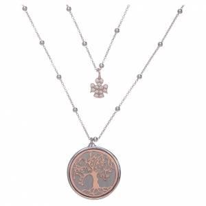 Colgantes, cruces y broches: Collar Amen Árbol de la Vida Plata 925