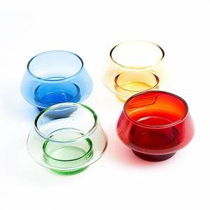 Coloured Tealight glass s1