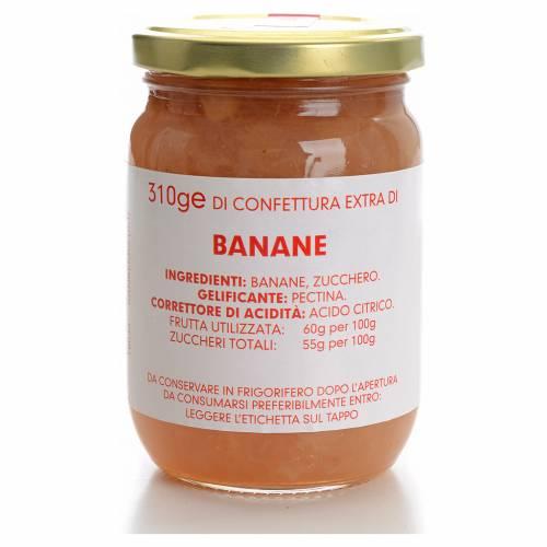 Confettura banane 310 gr Monastero Carmelitane s1