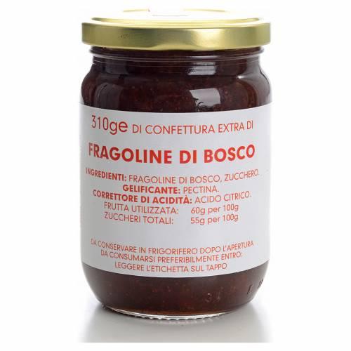 Confettura fragoline di bosco 310 gr Monastero Carmelitane s1