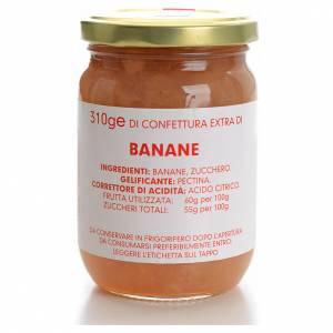Confiture de bananes 310 g Carmélites s1