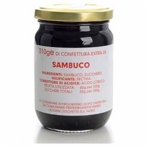 Confitures et marmelades: Confiture de sureau 310 g Carmélites