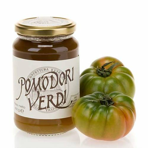 Confiture  tomates vertes 400gr Trappistines Vitorchiano s1
