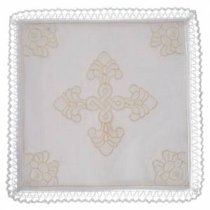 Conjunto de altar lino y algodón con amito s1