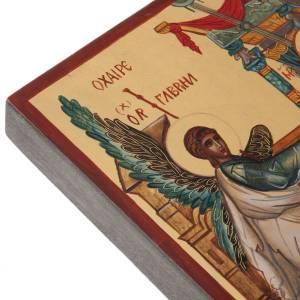 Ícono Ruso Pintado Anunciación s4