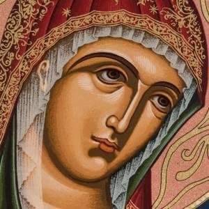 Ícono serigrafiada Virgen - Grecia s2