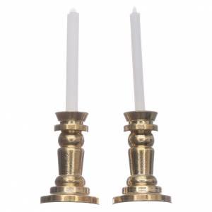 Coppia candelieri presepe h reale 3,5 cm s1