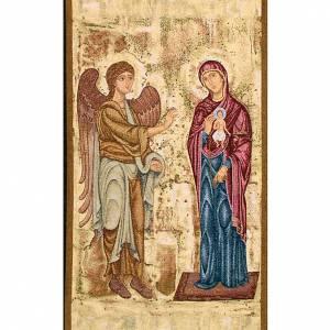 Coprileggio Annunciazione  sfondo oro maculato s2