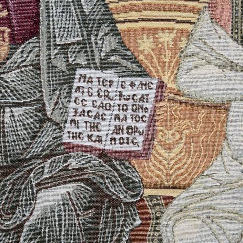 Coprileggio S.S. Trinità sfondo oro s4