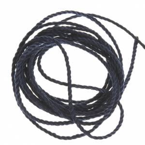 Corde bleue foncé pour chapelets s1