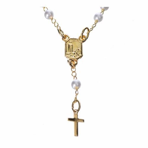Corona devozionale collana Madonna di Fatima similperla 2